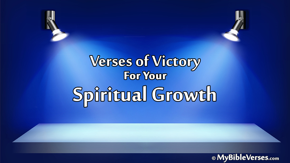 Bible Verses for Christian Victory! The 4 Keys for Spiritual
